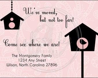 New Address New Home Moving Annoucement