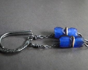 CRAZY SALE Jewelry, Earrings, African Trade Bead Earrings, Drop Earrings, Accessories, Jewelry Faceted Glass Earrings