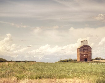 grain elevator photography, fine art, romantic prairies, sentimental, glacier national park, photos of montana
