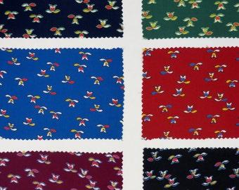Vintage 1920s Fabric / 1930s Fabric / Silk Fabric / Vintage Fabric Dress Fabric / Fabric Sample Set / Art Deco