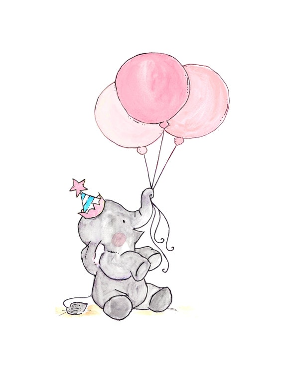 Oh Happy Day -- Archival Print  Blueberry Cotton Candy