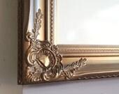 Whiteboard White Board Dry Erase Board Kitchen Office Organizer Antique Gold Bronze Magnetic Bulletin Board Message Center - MORE COLORS