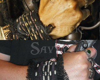 Captain Jack Sparow replica wristwrap from Dead Man's Chest / At World's End