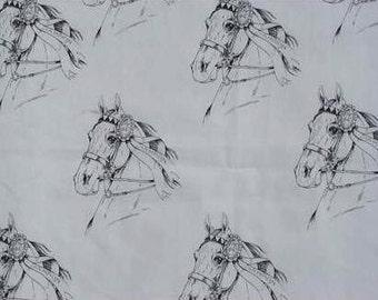 Saddlebred Horse Hot Diggity Dog Fabrics Novelty Fabric