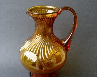 Amber Indiana Glass