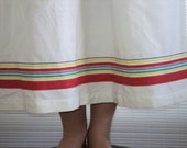 1980s Bohemian Peasant Ralph Lauren Maxi Skirt