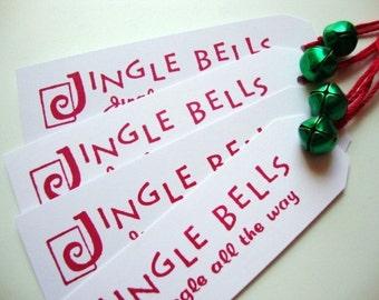 Christmas Jingle Bell Tags