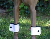 A pair of Dog cuffs for party wedding, dog wedding accessory, dog cuffs for wedding