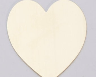 """Heart Blank-BRASS 24ga- 1 3/8"""" x 1 1/2"""" Large Heart- PK/6Great for your Jewelry Stamping Needs-Stamping Blanks for Personalized Jewelry"""