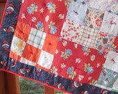 Vintage 1930's Doll Quilt