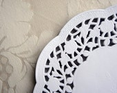 20 French Lace Paper Doilies 16cm or 6.3inch - Baked Goods Wedding Craft Scrapbooking