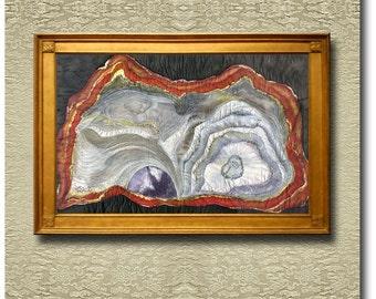 Spheres - Fine Art Print on heavy Cotton Canvas - unframed