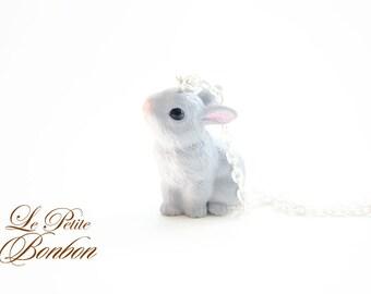 Kawaii bunny necklace