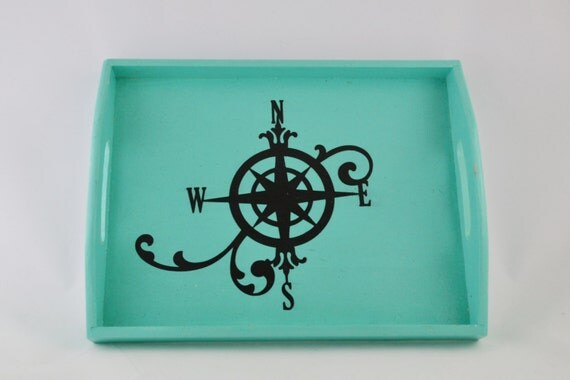 Compass Serving Tray