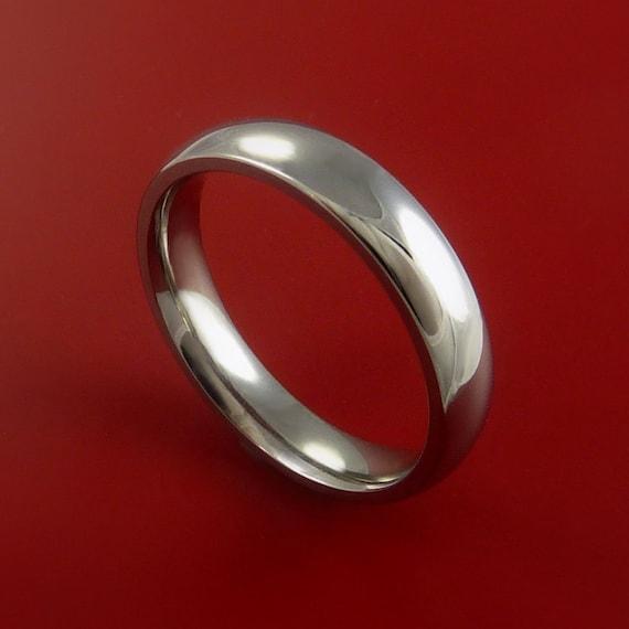 Titanium Wedding Band Unisex Engagement Rings Made to Any Sizing 3 to 22