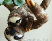Felted Sloths - RESERVED