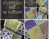 PATTERN Guest Book, Speical Event, Signature Quilt Kit, Forever Memory, Heirloom pdf Instant Download
