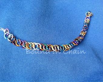 Bracelet of Misfit Rings: OOAK Half-Persian Bracelet