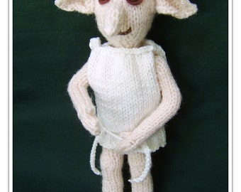 Dobby the house elf     Pattern only IMMEDIATE DOWNLOAD