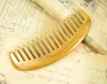 Fragrant Verawood Wide Tooth  Detangling Hair Comb