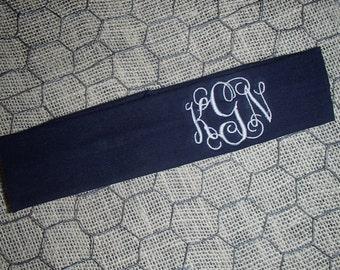 Personalized, Monogrammed Athletic Headband