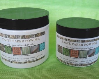 Make your own Paste Papers with Methyl Cellulose