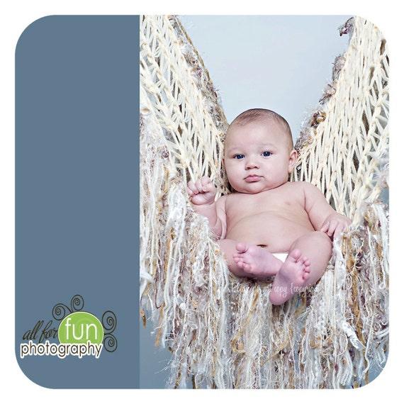 Photo Prop Blanket Baby Photo Prop Baby Blanket - Perfect Little Angel Wings Baby Wings Hammock