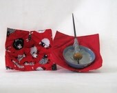 Support Spindle Bowl no-Slip  Slip cover Red Sheep!