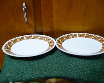 2 - Noritake - Southern Glow - Salad Plates - 8 1/4 - 9005