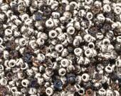 Seed Beads-11/0 Round-131 Crystal Bermuda Blue-Miyuki-16 Grams