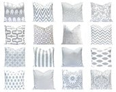 Decorative Pillow Covers - Gray Pillow Cover - Grey Pillow Cover - Gray and White - Nursery Decor - Couch Pillow Covers - Grey Pillow Cover