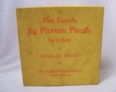 Vintage Family Jig Picture Puzzle Jigsaw
