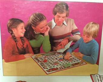 vintage unused Milton Bradley Go to the Head of the Class board game