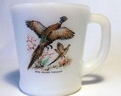 Fireking Ring Neck Pheasant D Handled Mug