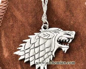 Stark symbol necklace