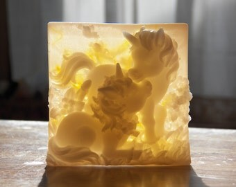gorgeous unicorn soap honey calendula