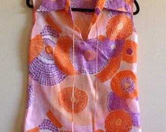 Colorful Miss Holly Sleeveless Top