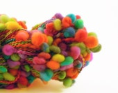 Neon Rainbow Loop Coiled Yarn