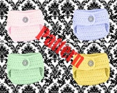 INSTANT DOWNLOAD Baby Diaper Cover with Button Closure PATTERN Newborn to 24 months