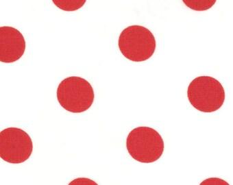 Dottie - White Christmas Red from Moda Fabrics
