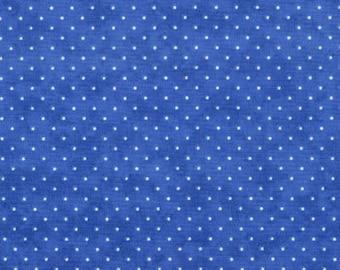 Moda Essential Dots - Royal Blue from Moda Fabrics