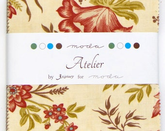 Atelier - Charm Pack by 3 Sisters for Moda Fabrics
