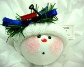 Boy Ornament Red Wagon Christmas Townsend Custom Gifts
