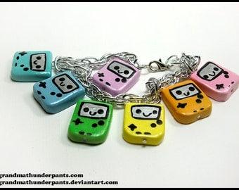 Rainbow Portable Game Bracelet