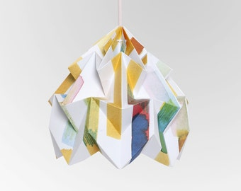 "Moth origami lampshade ""Midzomer"" - in collaboration with Tas-ka"