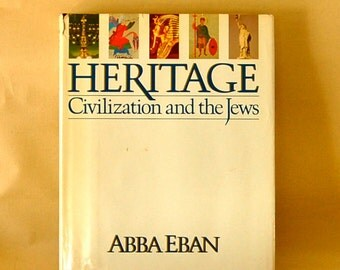 "Vintage History Book, ""Heritage: Civilization and the Jews"""