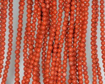 """3mm Red Jasper Round beads full strand 16"""" Loose Beads P142706"""