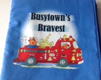 Busytown's Bravest Soft Cloth Book