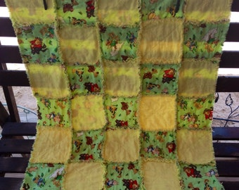 Fairy Tale Rag/Crib Quilt