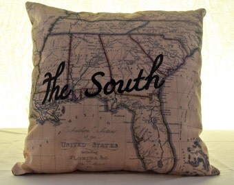 Southern Pride Pillow Cover